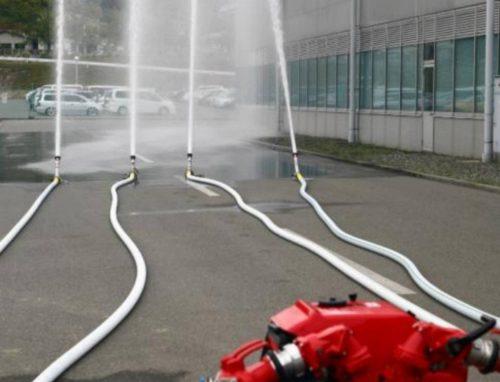 Bombas contra incendios portátiles en Bizkaia